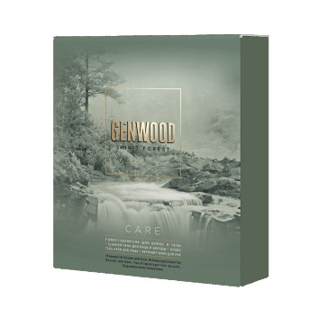 GENWOOD Набор GENWOOD care (шампунь, пена для лица и бороды, гель-крем для лица, крем для рук)