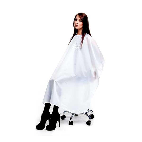 Купить Пеньюар парикмахерский с логотипом (белый) в интернет ... d1ee4c35d66a6